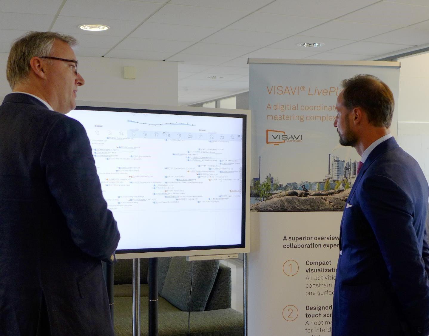 HRH Crown Prince Haakon visited innovation startups
